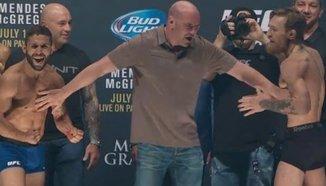 Кантар преди UFC 189