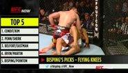 Топ 5 удара с коляно в UFC