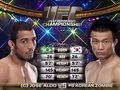 Jose Aldo vs Chan Sung Jung