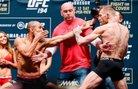 McGregor срещу Aldo на кантара преди UFC 194