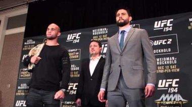 UFC 195: Lawler vs. Condit - първа среща