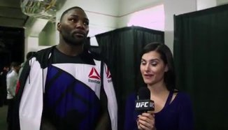 Интервю с Johnson след UFC on FOX 18