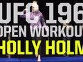 Отворена тренировка на Holly Holm преди UFC 196