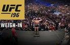 Кантар преди UFC 196