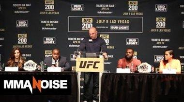 Пресконференция преди UFC 200