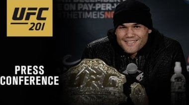 Пресконференция след UFC 201