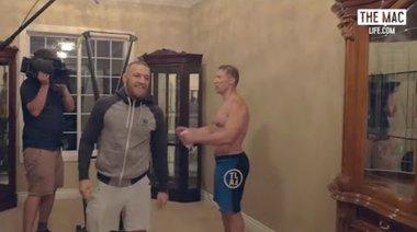 McGregor тренира два дни след UFC 202