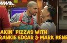 Ariel Helwani срещу Frankie Edgar в пица-надпревара