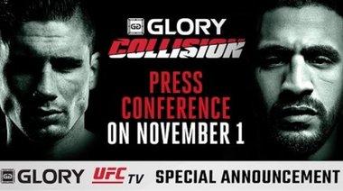 GLORY: Collision - Hari vs Verhoeven - пресконференция