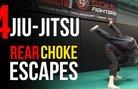 Четири техники за измъкване от rear-naked choke