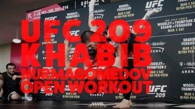 Отворена тренировка на Khabib Nurmagomedov