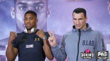 Joshua срещу Klitschko - очи в очи