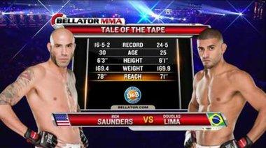 Douglas Lima vs Ben Saunders