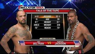 Rampage Jackson vs. Joey Beltran