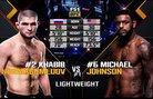 Khabib Nurmagomedov vs Michael Johnson