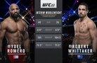 Robert Whittaker vs Yoel Romero I