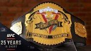 История на шампионските пояси в UFC