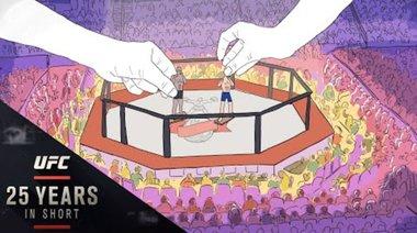 Произхода на UFC клетката