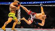Красиви техники от бойните спортове
