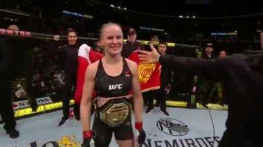Valentina Shevchenko след UFC 238