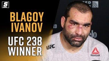Интервю с Багата след UFC 238