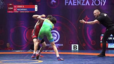 Едмонд Назарян срещу Бариш Ербек (2019)