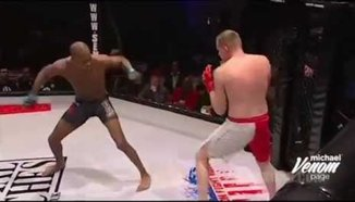 Michael 'Venom' Page vs Ben Dishman: Tornado Kick KO