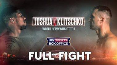 Anthony Joshua vs Wladimir Klitschko