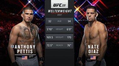 UFC 244 Free Fight: Nate Diaz vs Anthony Pettis