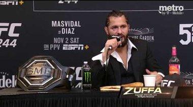 Пресконференция след UFC 244