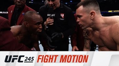 UFC 245: Fight Motion