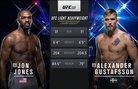 UFC 247 Free Fight: Jon Jones vs Alexander Gustafsson 2