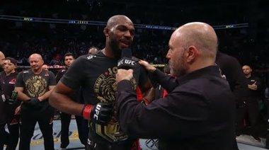 UFC 247: Jon Jones and Dominick Reyes Octagon Interview