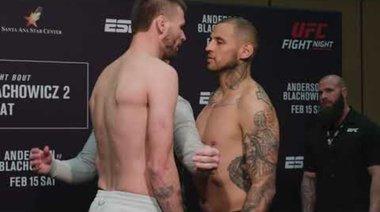 UFC Rio Rancho: Weigh-in Faceoffs
