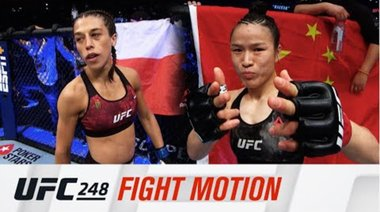 UFC 248: Fight Motion
