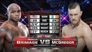 Conor McGregor vs Marcus Brimage