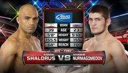 Khabib Nurmagomedov vs Kamal Shalorus