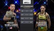 Jessica Andrade vs Rose Namajunas