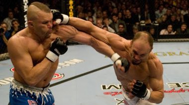 Chuck Liddell vs Randy Couture 2