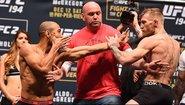 UFC Title Fight Faceoffs