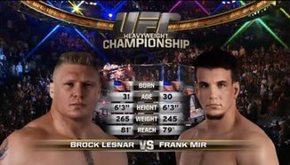 Brock Lesnar vs Frank Mir 2