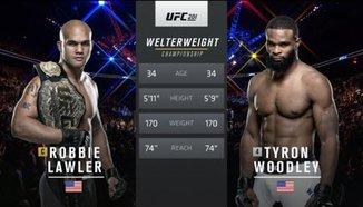 Tyron Woodley vs Robbie Lawler
