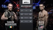 Nate Diaz vs Conor McGregor 1