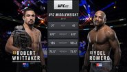 Robert Whittaker vs Yoel Romero 2