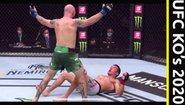 Най-добрите нокаути от UFC за половината на 2020
