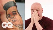 Дейна Уайт отгатва татуировките на бойци от UFC