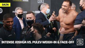 Напрежение на кантара между Джошуа и Пулев