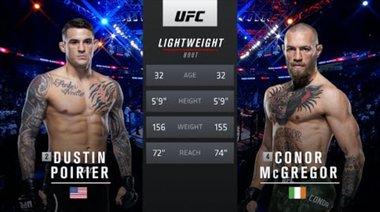 Dustin Poirier vs Conor McGregor 2