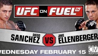 Резултати от MMA състезанието UFC on FUEL TV 1: 'Sanchez vs Ellenberger'