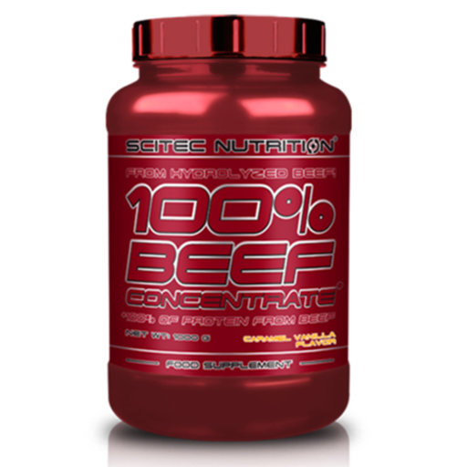 Scitec - 100% Beef Concentrate / 4 lbs.